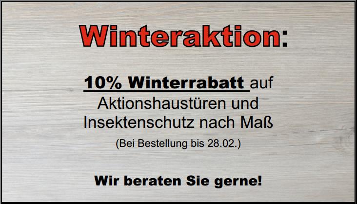 Winteraktion für website